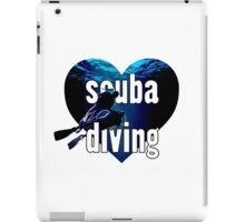 LOVE Scuba Diving!! iPad Case/Skin