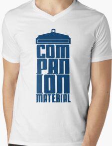 Companion Material Mens V-Neck T-Shirt