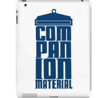 Companion Material iPad Case/Skin