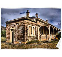 Bowenfels railway station Poster
