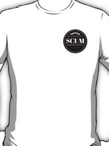 Scum Logo (BLACK) T-Shirt