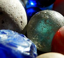 Old Marbles by Sandra  Aguirre
