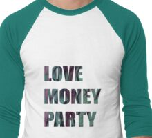 LOVE MONEY PARTY Men's Baseball ¾ T-Shirt