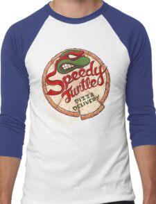 Speedy Turtle Men's Baseball ¾ T-Shirt