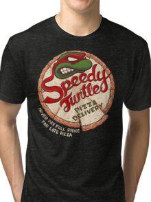 Speedy Turtle Tri-blend T-Shirt