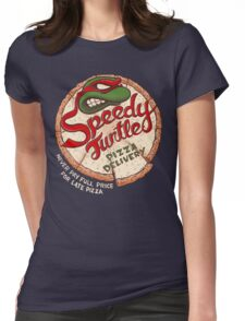 Speedy Turtle Womens Fitted T-Shirt