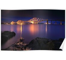 Forth Railway Bridge Poster
