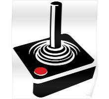Retro Atari Joystick Poster