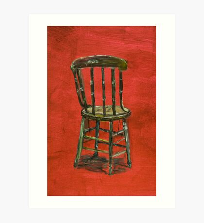 Chair Study Art Print