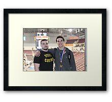 Shane & Mike Springer Framed Print