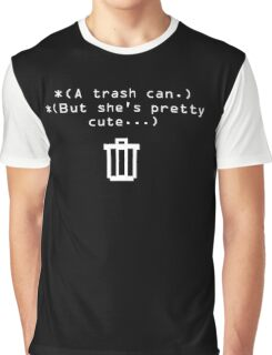 Trash Can Graphic T-Shirt