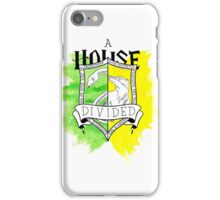 Wizard House Divided {Sly & Loyal} iPhone Case/Skin
