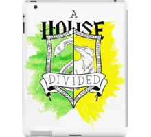 Wizard House Divided {Sly & Loyal} iPad Case/Skin