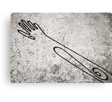 Hand Out  Canvas Print