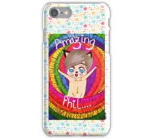 Draw Phil Naked! iPhone Case/Skin