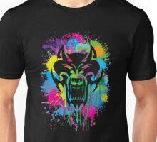 Splatter Wolf Unisex T-Shirt