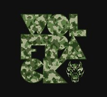Abstract Wolfpack (Camo) Unisex T-Shirt