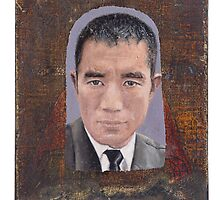 Portrait of Yukio Mishima  by robertpriseman