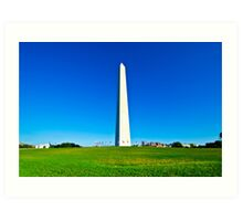 Washington Monument, Washington DC Art Print