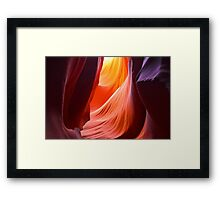 Antelope Canyon, Amazing Nature Framed Print