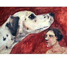 Dalmatian Dog Photographic Print