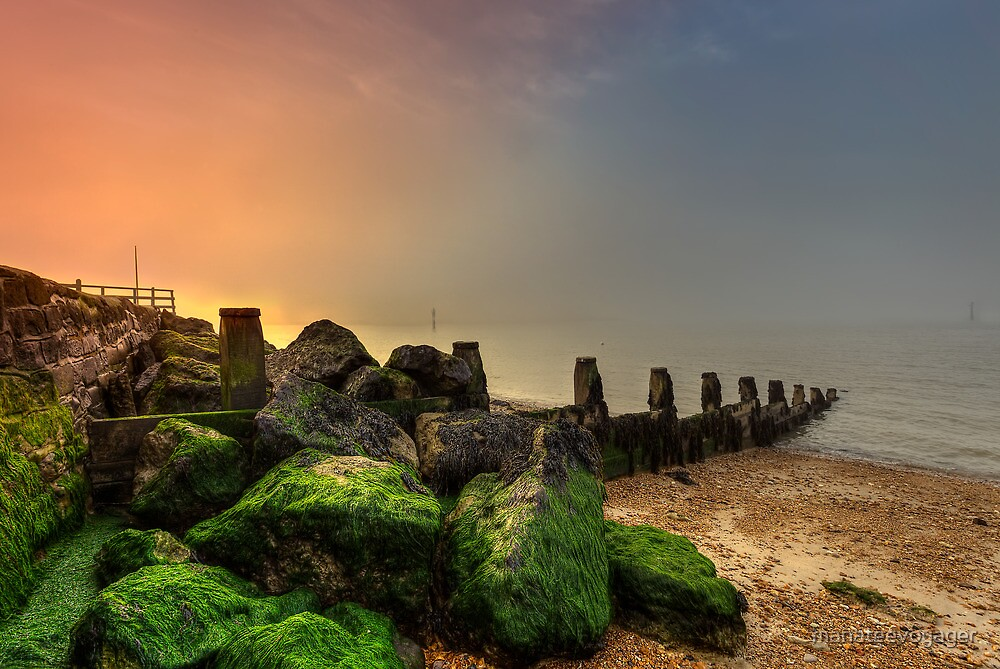 Fishbourne Sunset by manateevoyager