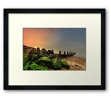 Fishbourne Sunset Framed Print