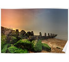 Fishbourne Sunset Poster