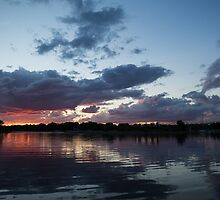 Sunset Afterburner by Georgia Mizuleva