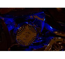 Live to ride. Harley Davidson. Andrzej Goszcz. Photography. Photographic Print