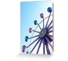 amusement park Greeting Card