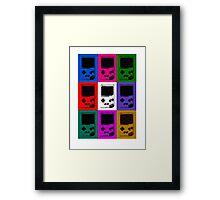 Nintendo Game Boy Classic Pop Art Framed Print