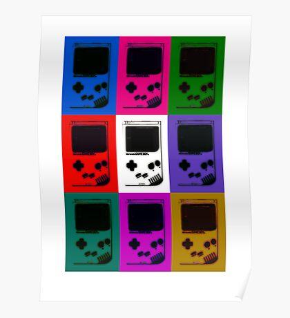 Nintendo Game Boy Classic Pop Art Poster
