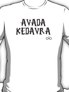 Avada Kedavra curse - Harry Potter T-Shirt