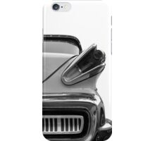 Classic in black & white iPhone Case/Skin