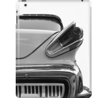 Classic in black & white iPad Case/Skin