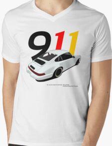 Porsche 911 Mens V-Neck T-Shirt