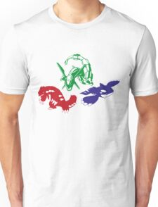 Hoenn Trio Unisex T-Shirt