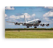 Boeing Airseeker R.1 ZZ664 crosswind landing Canvas Print