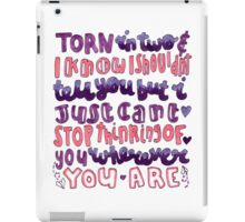 Wherever You Are iPad Case/Skin
