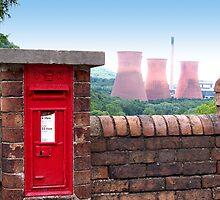 Postbox Nr Ironbridge  by hootonles