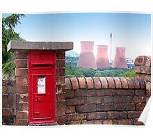 Postbox Nr Ironbridge  Poster