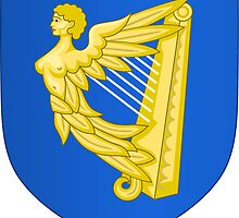Coat of Arms of Ireland, 17th Century to the Foundation of Irish Free State by abbeyz71