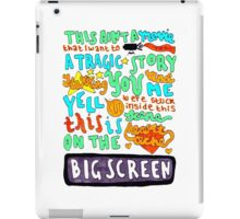Heartache On The Big Screen iPad Case/Skin