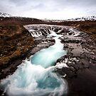 icy blue by JorunnSjofn Gudlaugsdottir