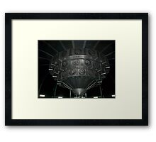 Inside The TARDIS Framed Print