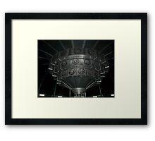 Inside The TARDIS Framed Print