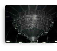 Inside The TARDIS Canvas Print