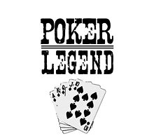 Poker Legend phone case by Bergmandesign