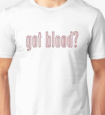 The Walking Dead - Got blood? : Outline Unisex T-Shirt